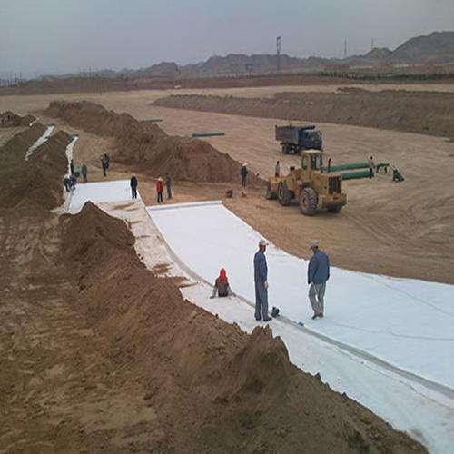 土工布在边坡防护结构的生态防护