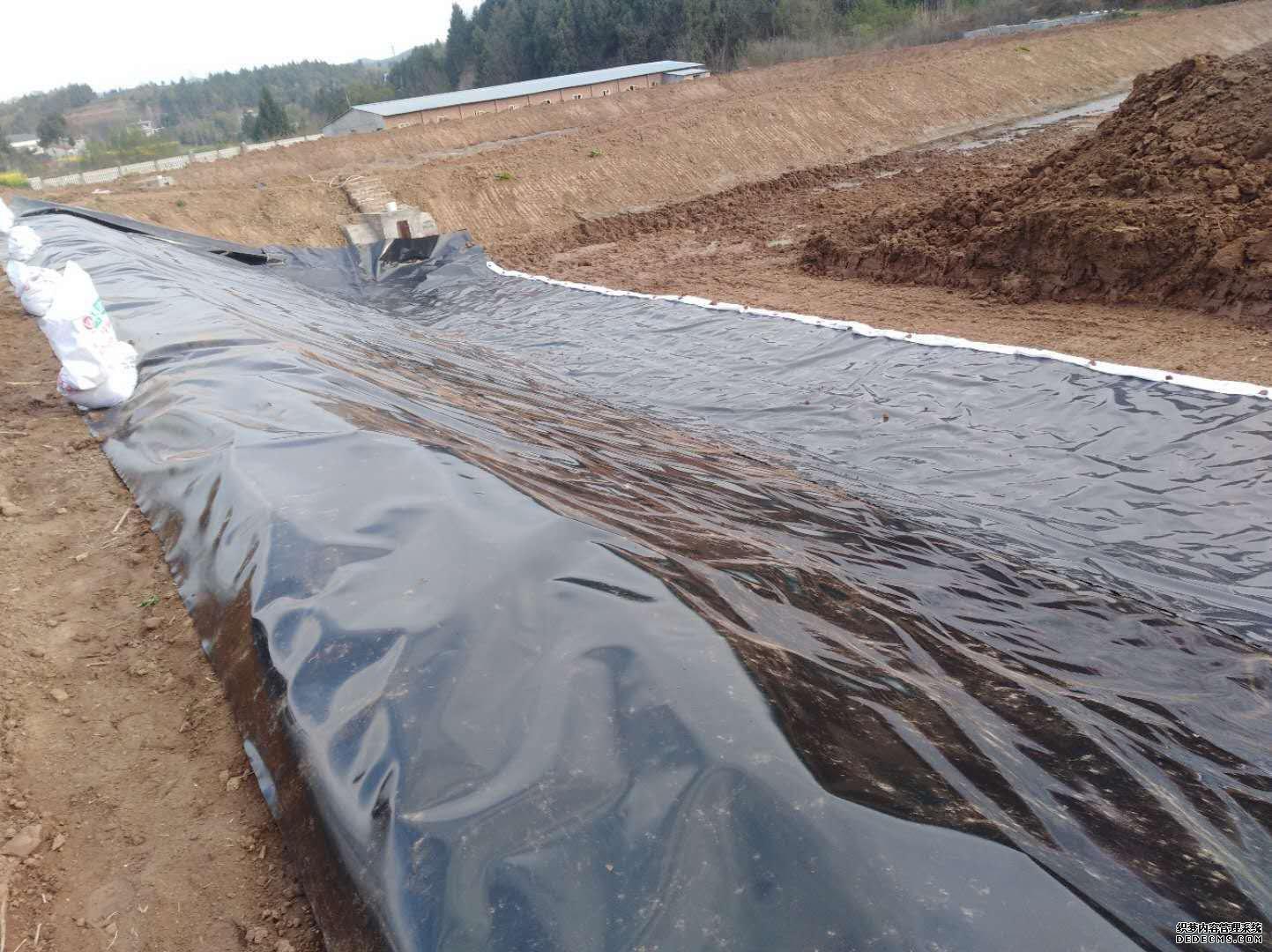 道路路基防渗系统裁剪HDPE膜确保满足设计要求