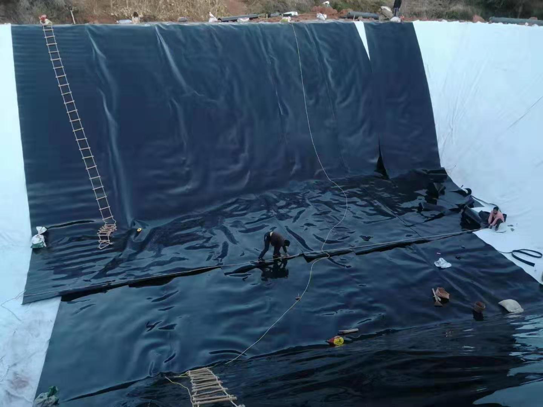 HDPE土工膜缺陷修补方法-点焊