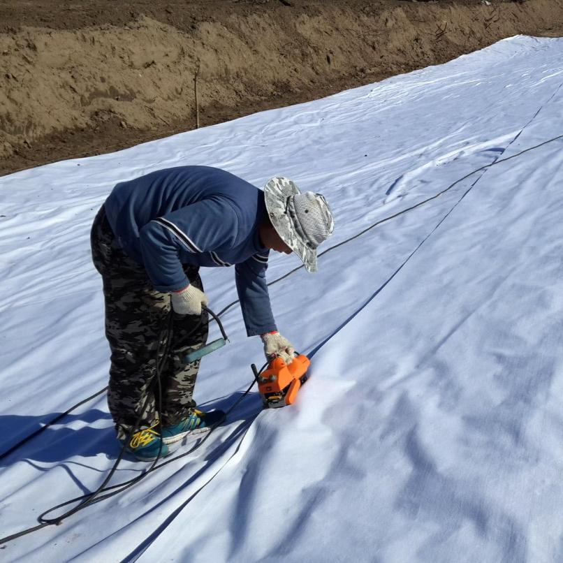 非织造土工布近几年在大江、大河改造工程中的应用